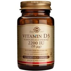Solgar Vitamin D3 2200IU 50 Caps, fig. 1