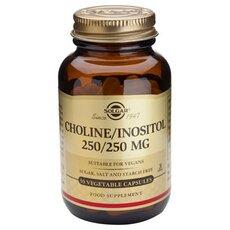 Solgar Choline-Inositol 250/ 250mg ,50 Vegetable Capsules, fig. 1
