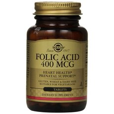 Solgar Folacin (Folic Acid) 400ug Αναιμία 100 Tablets, fig. 1
