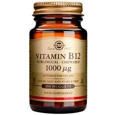 Solgar Vitamin B12 1000ug ,100 Υπογλώσσιες Ταμπλέτες, fig. 1