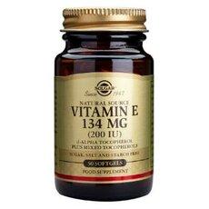 Solgar Vitamin E 200 IU ,Natural Softgels 50 Tabs, fig. 1