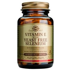 Solgar Vitamin E with Yeast Free Selenium Aντιοξειδωτική Pροστασία 50 Capsules, fig. 1