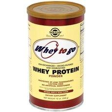Solgar Whey To Go Protein με Γεύση Βανίλια 907gr, fig. 1