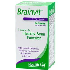 HEALTH AID Brainvit, 60 Tablets