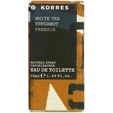 KORRES Γυναικείο Άρωμα White Tea Bergamot Freesia, 50ml