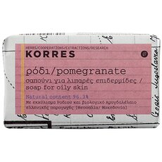 KORRES Σαπούνι Ρόδι για λιπαρές επιδερμίδες, 125gr
