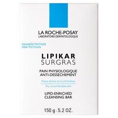 LA ROCHE - POSAY LIPIKAR SURGRAS PAIN Σαπούνι καθαρισμού εμπλουτισμένο σε λιπίδια. Κατά της ξηρότητας, 150ml