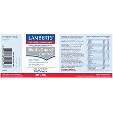 LAMBERTS Multi Guard Control Πολυβιταμίνη 30 Tablets, fig. 3