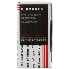KORRES Ανδρικό Άρωμα Vetiver Root Green Tea Cedarwood, 50ml, fig. 2