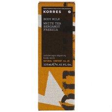 KORRES Γαλάκτωμα Σώματος Λευκό Τσάι Φρέζια και Περγαμόντο 125ml, fig. 1