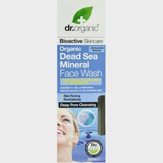 Dr.Organic Organic Dead Sea Mineral Face Wash Καθαρισμός Προσώπου 200ml