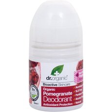 Dr.Organic Organic Pomegranate Deodorant Αποσμητικό Με Βιολογικό Ρόδι, 50ml, fig. 1