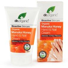 Dr.Organic Organic Manuka Honey Hand and Nail Cream, 125ml, fig. 1