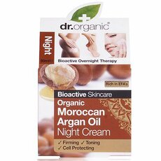 Dr.Organic Moroccan Argan Oil Night Cream, 50ml, fig. 1