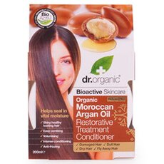 Dr.Organic Organic Moroccan Argan Oil Restorative Treatment Conditioner, 200ml, fig. 1