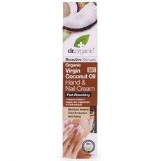 Dr.Organic Organic Virgin Coconut Oil Hand & Nail Cream, 100ml, fig. 1