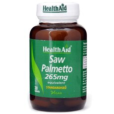 HEALTH AID Saw Palmetto Berry 265mg 30Tabs, fig. 1