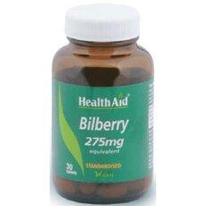 HEALTH AID Bilberry 275mg Για ενδυνάμωση & τόνωση της όρασης, 30 Vetabs