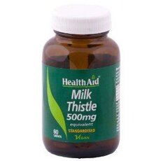 HEALTH AID Milk Thistle 500mg, 30Vetabs