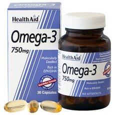 HEALTH AID Omega 3 750mg 30Caps, fig. 1