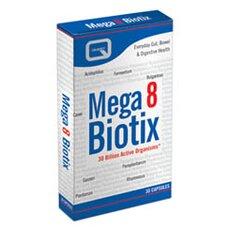 QUEST Mega 8 Biotix Συνδυασμός 8 Διαφορετικών Προβιοτικών 30Caps