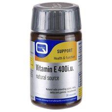 QUEST Vitamin E 400i.U. Natural Source, 30Caps