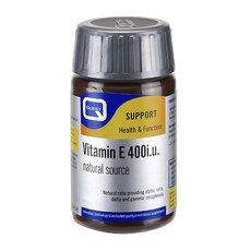 QUEST Vitamin E 400i.U. Natural Source, 60Caps