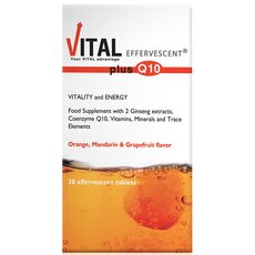 Vital Plus Q10 Effervescent, 30Tabs, fig. 1