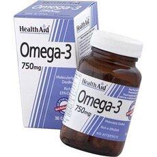 HEALTH AID Omega 3 750mg 60Caps, fig. 1
