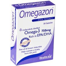 HEALTH AID Omegazon Capsules 750 mg 60 Κάψουλες, fig. 1