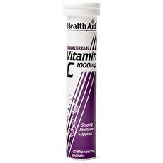 HEALTH AID Vitamin C 1000mg Φραγκοστάφυλο 20 Eff Tabs, fig. 1