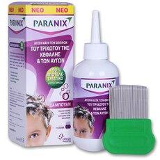 PARANIX Shampoo Εξαλείφει Ψείρες & Κόνιδες με μία Εφαρμογή 200ml
