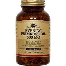 Solgar Evening Primrose Oil 500mg Εμμηνόπαυση 180 Softgels, fig. 1