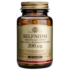 Solgar Selenium 200μg Σελήνιο 100 Tablets, fig. 1