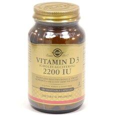 Solgar Vitamin D3 2200IU 100 Caps, fig. 1