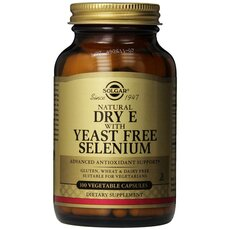 Solgar Vitamin E with Yeast Free Selenium Aντιοξειδωτική Προστασία 100 Capsules, fig. 1