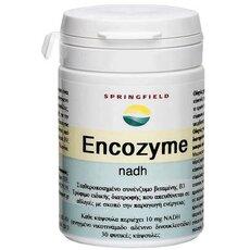 Springfield Encozyme NADH 10mg Σταθεροποιημένο συνένζυμο βιταμίνης Β3, γνωστό επίσης και ως συνένζυμο 1 30 Κάψουλες, fig. 1