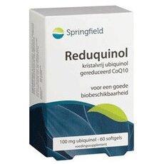 Springfield Reduquinol 100mg Ubiquinol Μη Κρυσταλλική Μορφή Συνενζύμου Q10, με D λεμονένιο 60 Κάψουλες, fig. 1