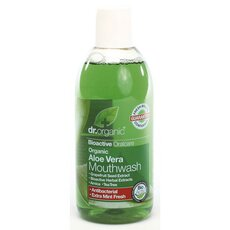 Dr.Organic Aloe Vera Mouthwash 500ml, fig. 1
