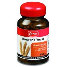 Lanes Βrewers Yeast Μαγιά Μπύρας 300mg 200 Tabs, fig. 1