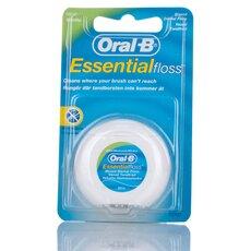 Oral-B Essensial Floss Οδοντικό Νήμα Ακήρωτο 50m, fig. 1