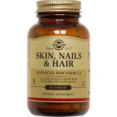 Solgar Skin Nails & Hair Ολοκληρωμένη Φόρμουλα για Δέρμα, Νύχια & Μαλλιά 60 Tablets, fig. 1