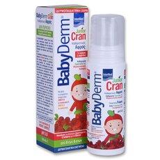 INTERMED Babyderm Junior Cran Αφρός Καθαρισμού με Cranberry 150ml