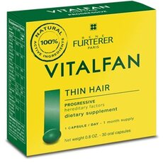 RENE FURTERER Vitalfan για τη Προοδευτική Τριχόπτωση, 30 Caps