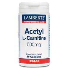 LAMBERTS Acetyl L Carnitine 500mg 60 Tabs