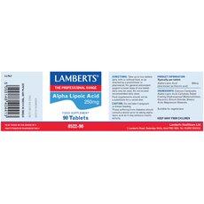 LAMBERTS Alpha Lipoic Acid 300mg 90 Tablets, fig. 2