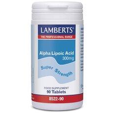 LAMBERTS Alpha Lipoic Acid 300mg 90 Tablets