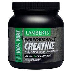 LAMBERTS Creatine powder Κρεατίνη σε Σκόνη 500gr