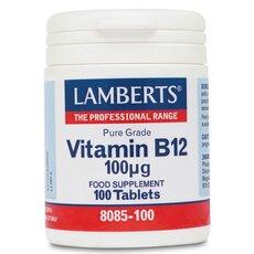 LAMBERTS Vitamin B12 100μg 100 Tabs