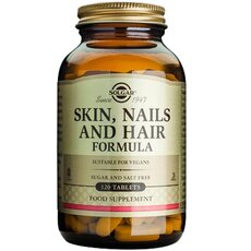 Solgar Skin Nails & Hair Ολοκληρωμένη Φόρμουλα για Δέρμα, Νύχια & Μαλλιά 120 Tablets, fig. 1